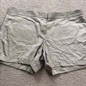 Woman's J. Crew chino shorts